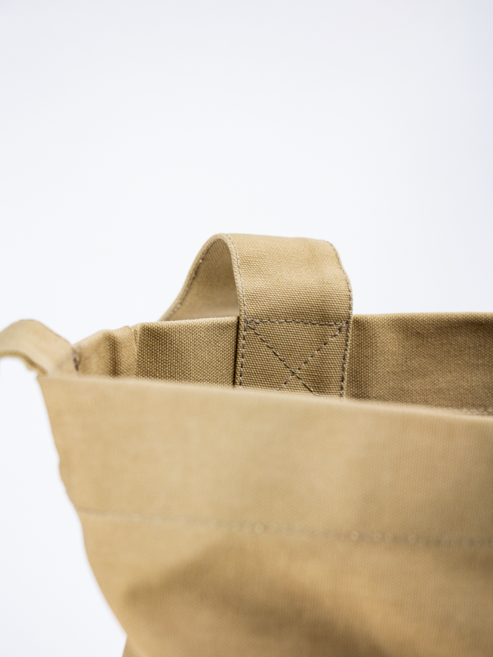 Detail heavy-duty totebag