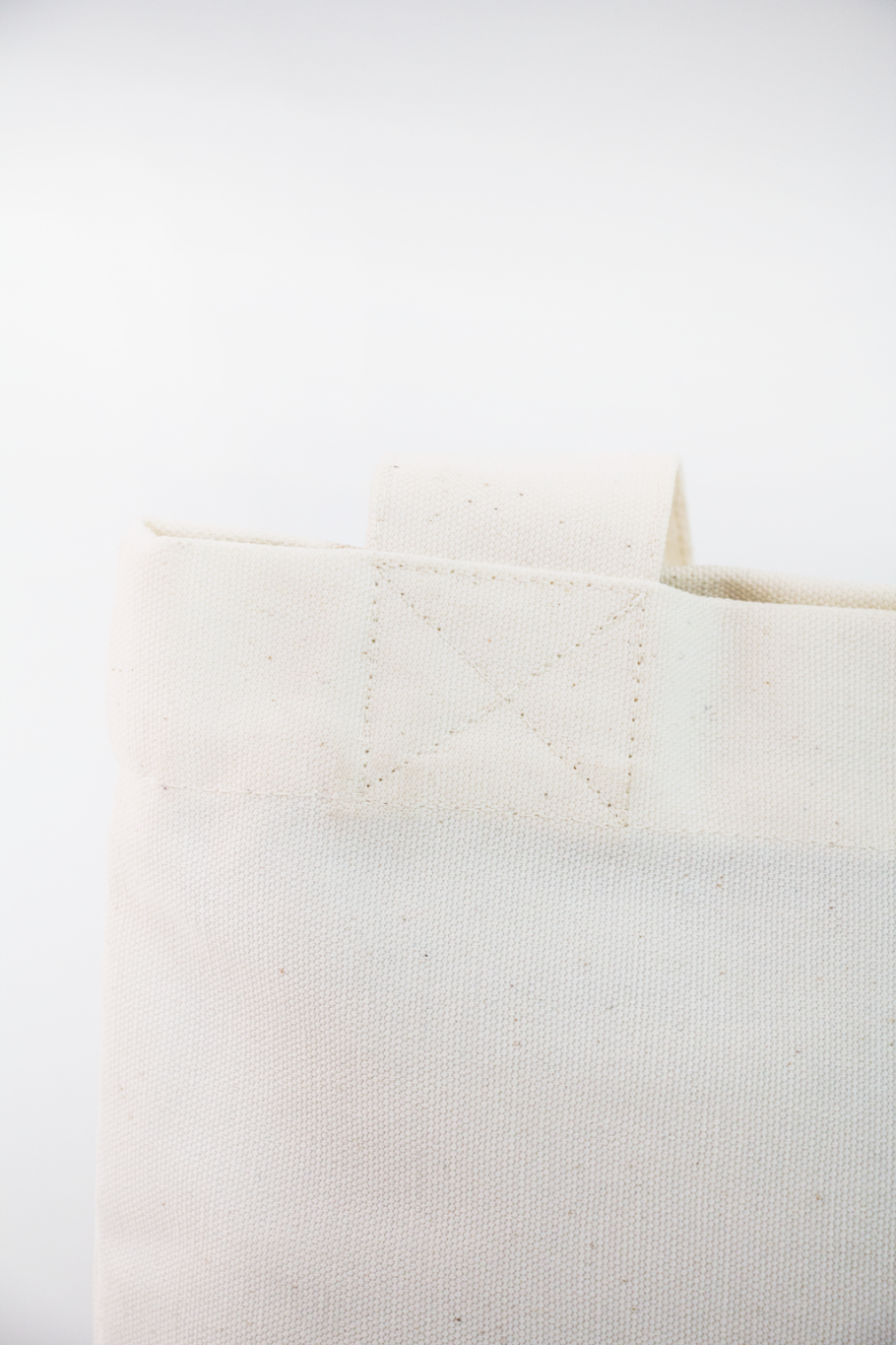 Detail heavy-duty totebag - Offwhite