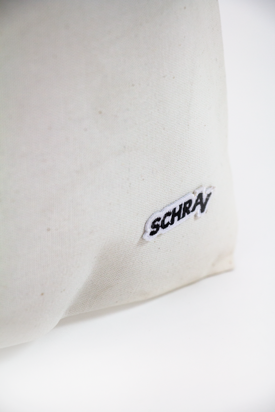 Closeup heavy-duty totebag - Offwhite